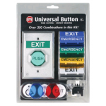 UNIVERSAL EXIT BUTTON SWITCH KIT